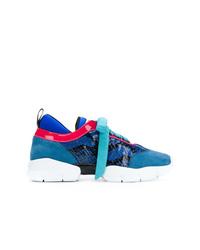 blaue Sportschuhe von Emilio Pucci