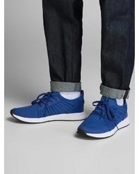 blaue Sportschuhe von Jack & Jones