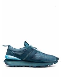 blaue Sportschuhe von Lanvin