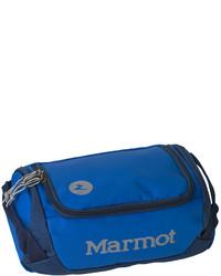 blaue Sporttasche