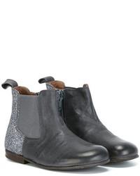 blaue Stiefel aus Leder von Pépé