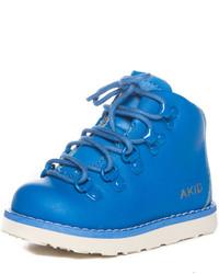 blaue Stiefel