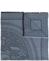 blaue Stola von Versace