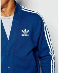 8f4a5b2e3ef5 blaue Strickjacke von adidas   Wo zu kaufen und wie zu kombinieren