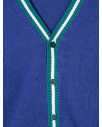 blaue Strickjacke von Il Gufo