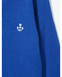 blaue Strickjacke von Familiar