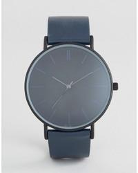 blaue Uhr von Aldo