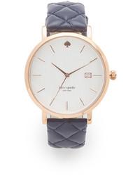 blaue Uhr von Kate Spade