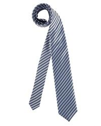 blaue vertikal gestreifte Krawatte von Olymp