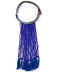 blaue Perlen Halskette von P.A.R.O.S.H.