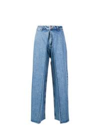 blaue weite Hose aus Jeans von Aalto
