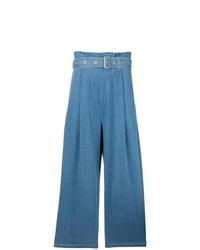 blaue weite Hose aus Jeans von J Brand