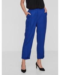 blaue weite Hose von Vero Moda