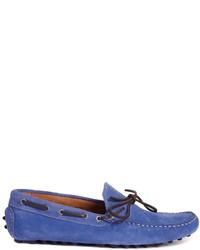 Billige Neue Stile Kaufen Sie Günstig Online Einkaufen Mokassins aus Wildleder - Blau Selected AljiWgy