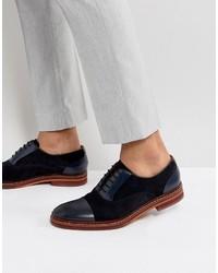 blaue Wildleder Oxford Schuhe von Ted Baker