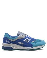 blaue Wildleder Sportschuhe von New Balance