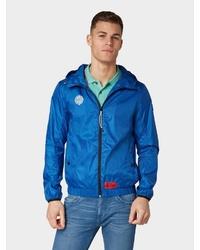 blaue Windjacke von Tom Tailor