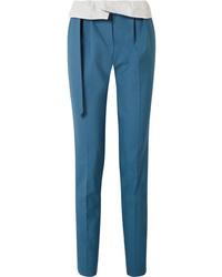 blaue Wollanzughose von Gabriela Hearst