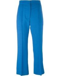 blaue Wollanzughose von Marni