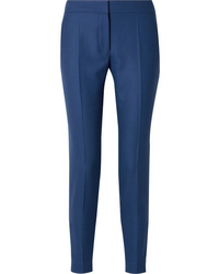 blaue Wollanzughose von Stella McCartney
