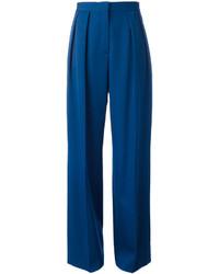 blaue Wollhose von Stella McCartney