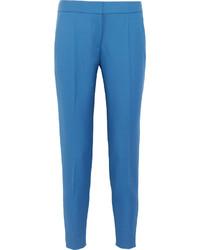 blaue Wollkarottenhose von Stella McCartney