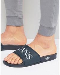 blaue Zehensandalen von Armani Jeans