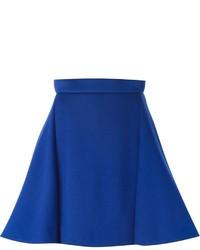 Blauer A-Linienrock von Antonio Berardi