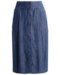blauer A-Linienrock von Esprit