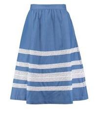 Blauer A-Linienrock von mint&berry