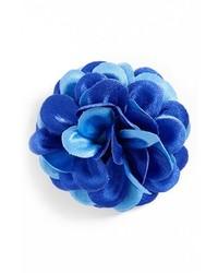 blauer Anstecknadel