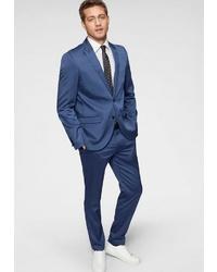 blauer Anzug von BRUNO BANANI