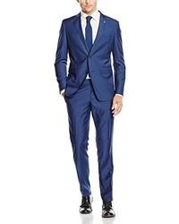 blauer Anzug von ESPRIT Collection