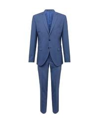 blauer Anzug von Selected Homme