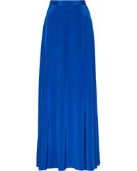 blauer ausgestellter Rock von DKNY