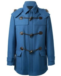 blauer Düffelmantel von Salvatore Ferragamo