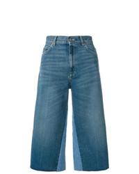 blauer Hosenrock aus Jeans von Gucci