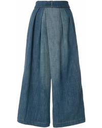 blauer Hosenrock aus Jeans von Loewe