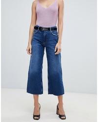 blauer Hosenrock aus Jeans von Mango