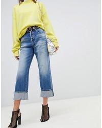blauer Hosenrock aus Jeans von Miss Sixty