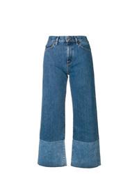 blauer Hosenrock aus Jeans von Simon Miller