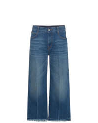 blauer Hosenrock aus Jeans von Stella McCartney