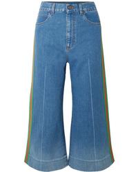 blauer Hosenrock von Gucci