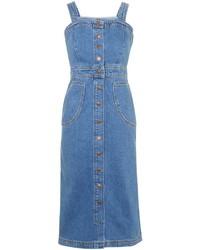blauer Jeans Kleiderrock