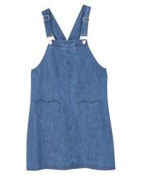 blauer Jeans Kleiderrock von Mango