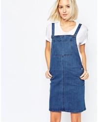 Blauer Jeans Kleiderrock von Vero Moda