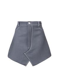 blauer Jeans Minirock von Dion Lee