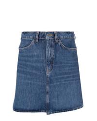 blauer Jeans Minirock von MiH Jeans