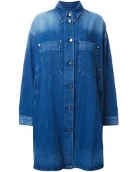 Blauer Jeansmantel von MM6 MAISON MARGIELA