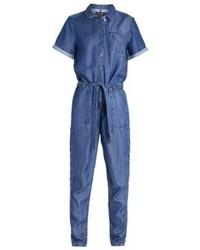 blauer Jumpsuit aus Jeans von Marc O'Polo